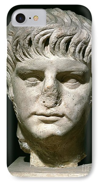 Head Of Nero IPhone Case by Anonymous