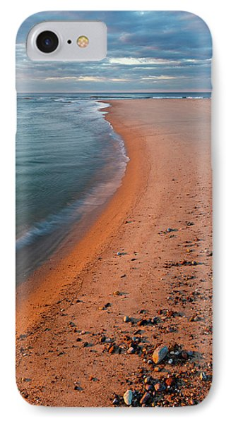 Head Of The Meadow Beach, Cape Cod IPhone Case by Jerry and Marcy Monkman