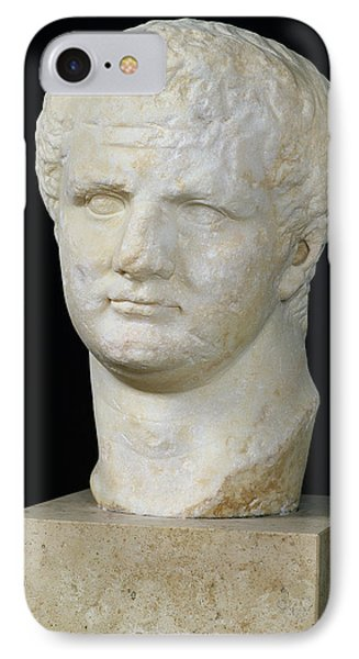 Head Of Titus IPhone Case by Anonymous