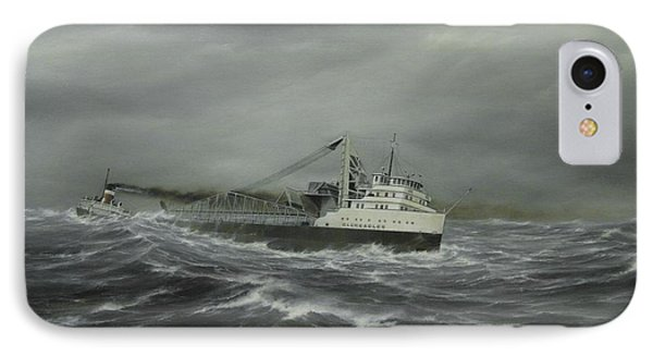 Heading For The Point IPhone Case by Captain Bud Robinson