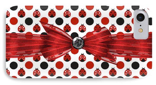 Healing Ladybugs IPhone Case by Debra  Miller