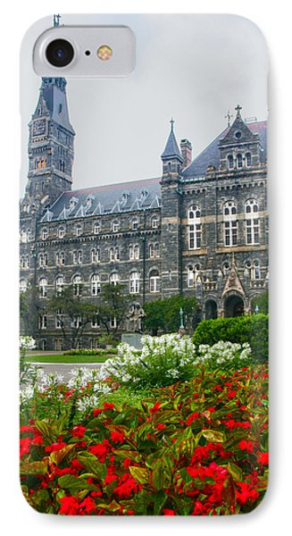 Healy Hall IPhone Case by Mitch Cat