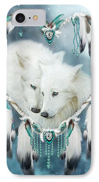 Heart Of A Wolf IPhone 7 Case by Carol Cavalaris