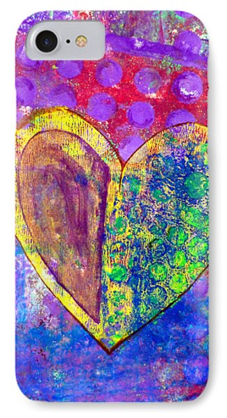 Heart Of Hearts Series - Discovery Phone Case by Moon Stumpp