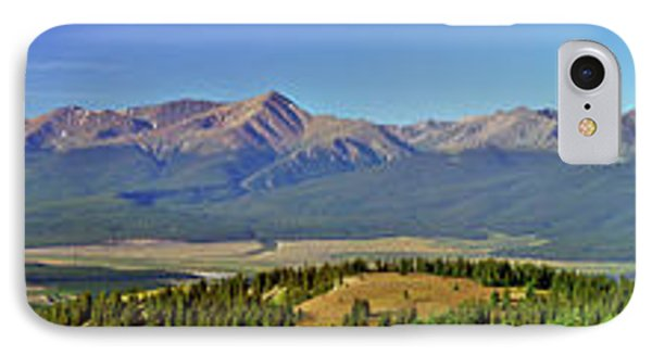Heart Of The Sawatch Panoramic Phone Case by Jeremy Rhoades