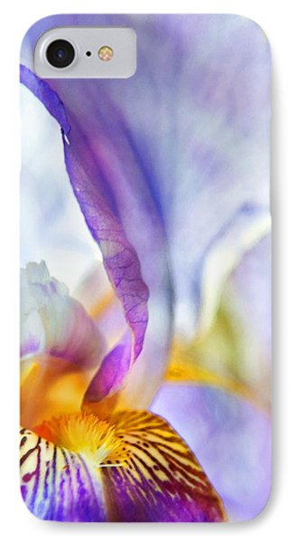 Heavenly Iris Phone Case by Theresa Tahara