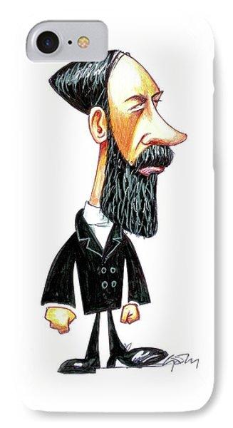 Heinrich Hertz IPhone Case by Gary Brown