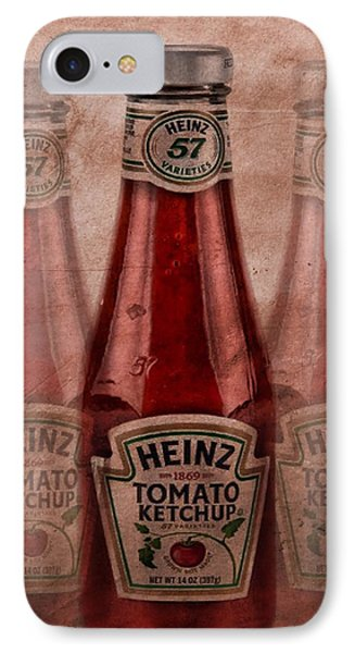 Heinz Tomato Ketchup IPhone Case by Dan Sproul