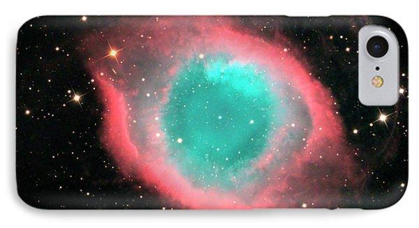 Helix Nebula (ngc 7293) IPhone Case by Damian Peach