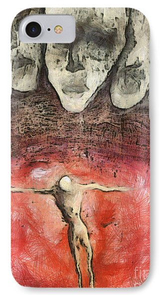 Hell Are The Others Phone Case by Michal Boubin