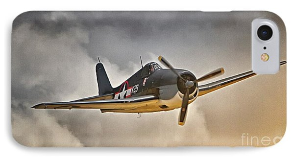 Hellcat Dawn Patrol IPhone Case by Gus McCrea