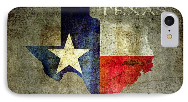 Hello Texas IPhone 7 Case by Daniel Hagerman