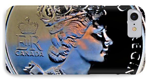 Her Majesty Elisabeth The Second  Coin Phone Case by Danielle  Parent