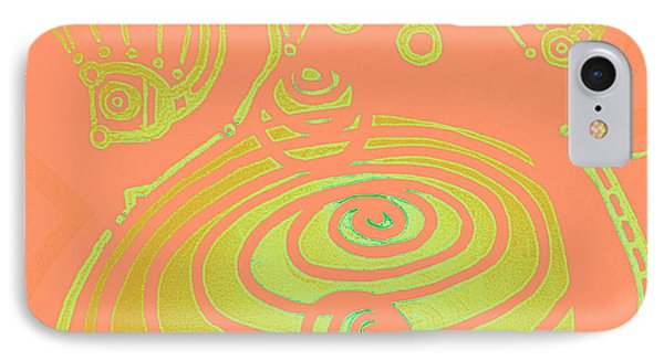Her Navel Peach Vibrates Pulsates  Phone Case by Feile Case