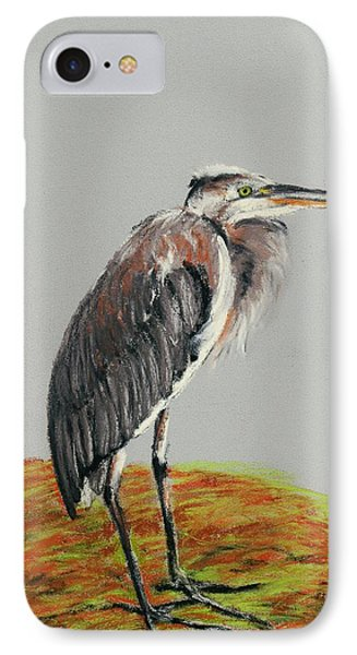 Heron IPhone Case by Anastasiya Malakhova