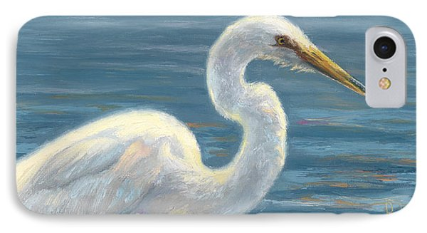 Heron Light IPhone 7 Case by Lucie Bilodeau