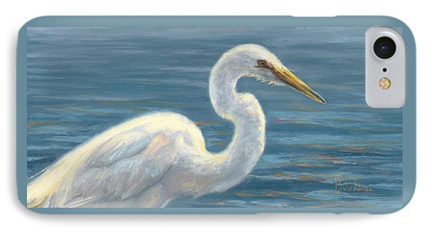Heron Light IPhone Case by Lucie Bilodeau