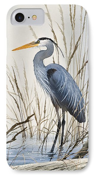 Herons Natural World IPhone 7 Case by James Williamson