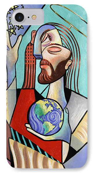 Hes Got The Whole World In His Hand Phone Case by Anthony Falbo