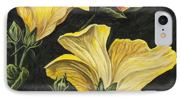 Hibiscus 2 Phone Case by Darice Machel McGuire