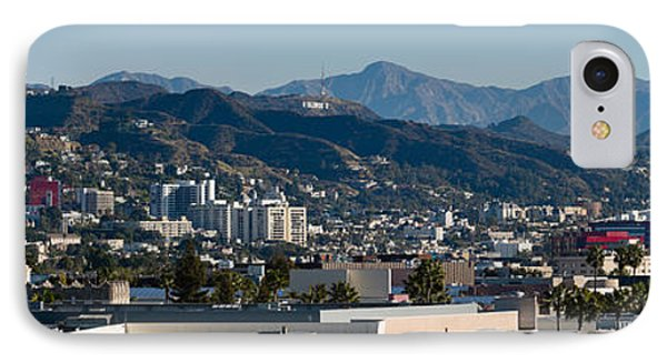 High Angle View Of A City, Beverly IPhone Case by Panoramic Images