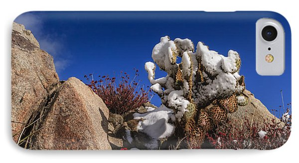 High Desert Snow 2 Phone Case by Scott Campbell