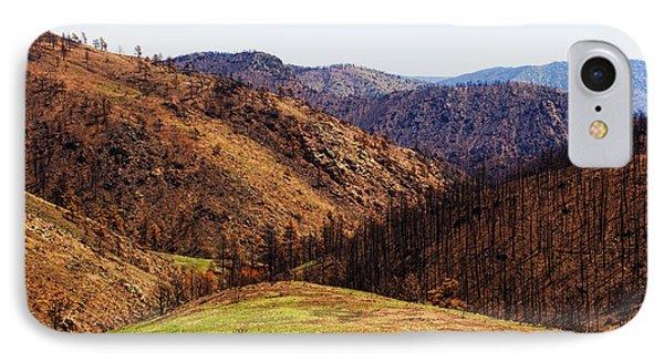 High Park Fire Burn IPhone Case by Jon Burch Photography