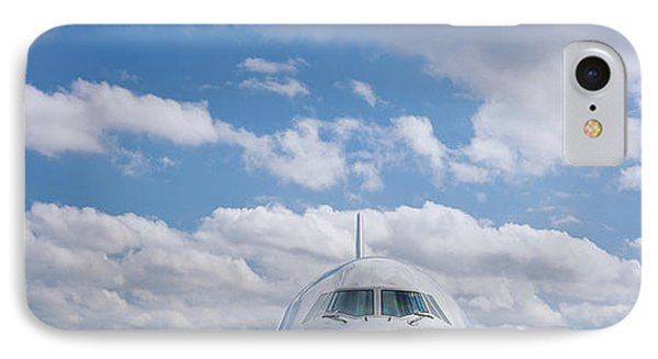 High Section View Of An Airplane IPhone Case by Panoramic Images