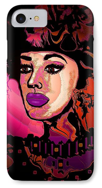 High Society Phone Case by Natalie Holland