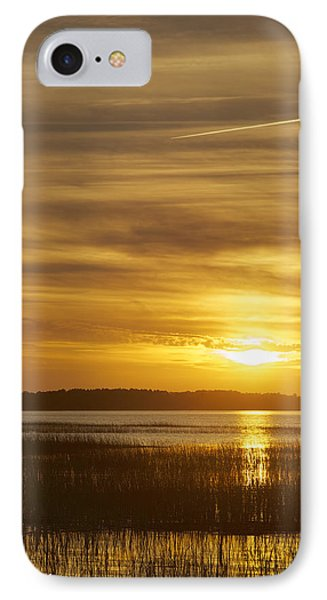 High Tide In The Marsh Phone Case by Phill Doherty