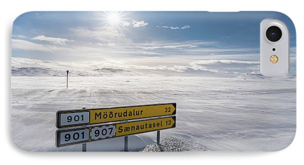Highlands Of Iceland Close To The Ring IPhone Case by Martin Zwick