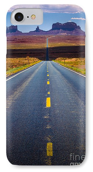 Highway 163 IPhone Case by Inge Johnsson