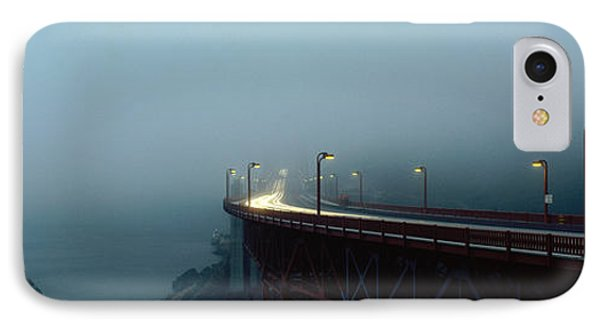 Highway In Fog, San Francisco IPhone Case by Panoramic Images