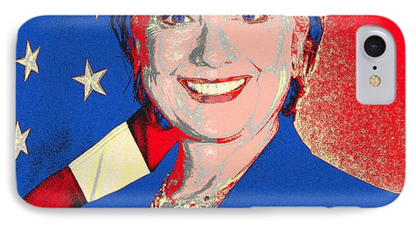 Hillary 2016 Phone Case by Scarebaby Design