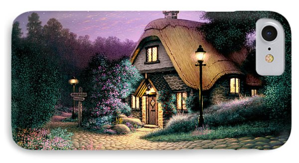 Hillcrest Cottage Phone Case by Steve Read