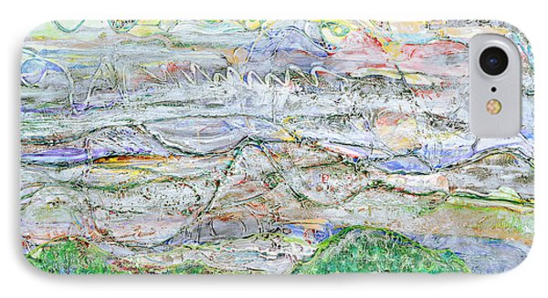 Hills And Fog Phone Case by Regina Valluzzi