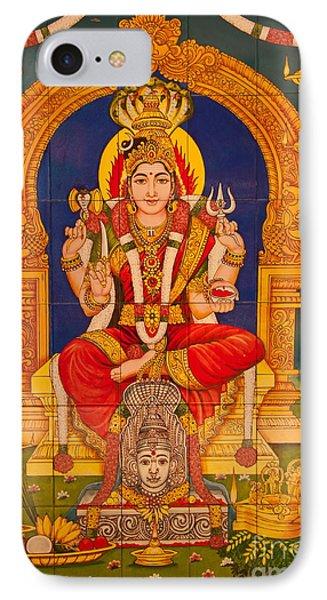 Hindu God Phone Case by Niphon Chanthana