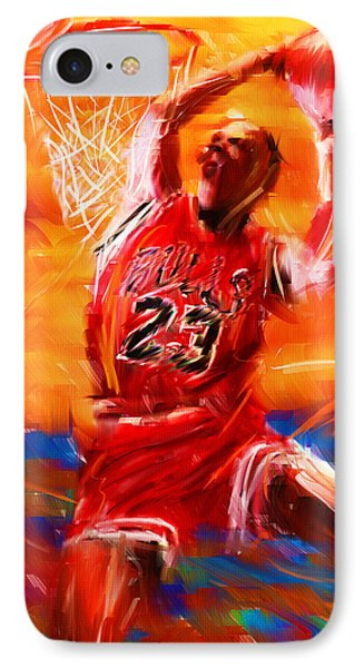 His Airness IPhone 7 Case by Lourry Legarde