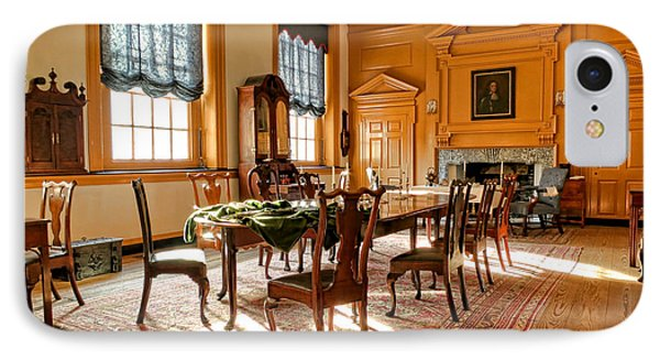 Historic Governor Council Chamber Phone Case by Olivier Le Queinec