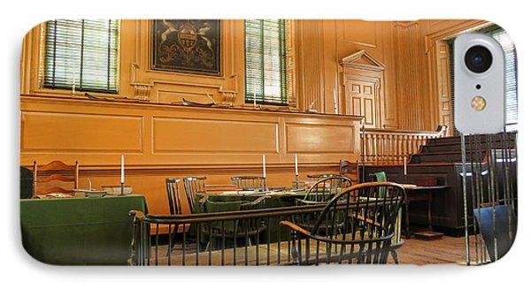 Historic Supreme Court IPhone Case by Olivier Le Queinec