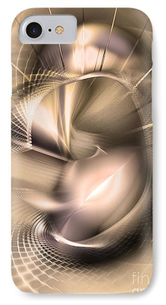 Hoc Omnis Est - Abstract Art IPhone Case by Sipo Liimatainen