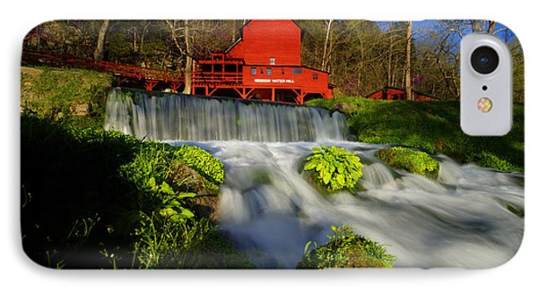 Hodgson Mill 3 IPhone Case by Kevin  Whitworth