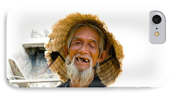 Hoi An Fisherman IPhone Case by David Smith
