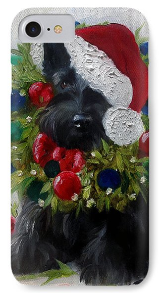 Holiday IPhone Case by Mary Sparrow
