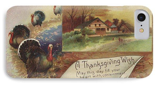 Holiday Postcards Vii IPhone Case by Wild Apple Portfolio