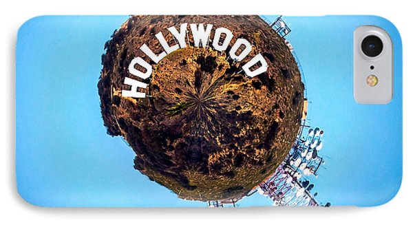 Hollywood Sign Circagraph IPhone 7 Case by Az Jackson