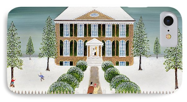 Home For Christmas IPhone Case by Mark Baring
