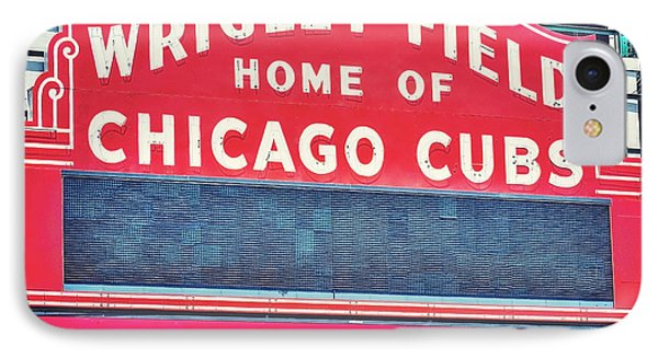 Home Of The Cubs IPhone Case by Emily Kay