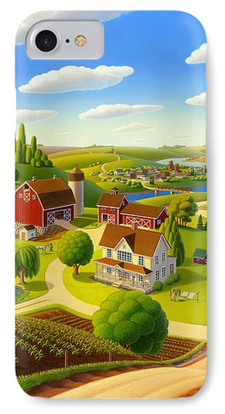Home To Harmony IPhone Case by Robin Moline