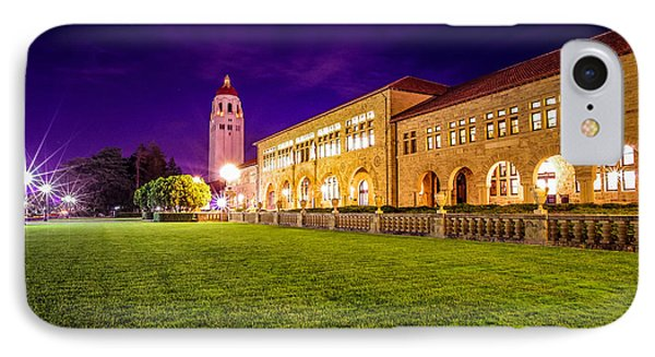 Hoover Tower Stanford University IPhone 7 Case by Scott McGuire